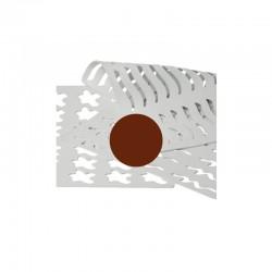 CHABLON 18 390x295x2mm  D42mm 30p