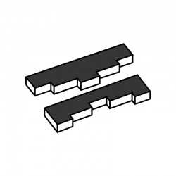 M. PVC TURRON TU502 PODIUM 190x80x20 (2moldes)
