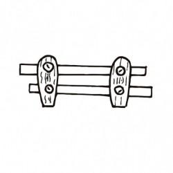 M. PVC VALLA CAMPO 90x37x9mm (6i)