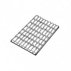 M. PVC TEJADO TEJA GRANDE 134x184x14mm