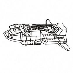 M. PVC NAVE ESPACIAL SP (4P) 275x195x80mm