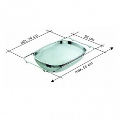 COLADOR EXTENSIBLE 24x34/55cm