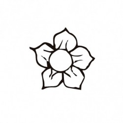 M. PVC flor 30x30mm