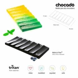 Molde Tritan Tableta Onda-T - 150,5x70xh11 mm