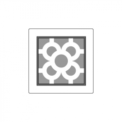 MOLDE PVC TABLETA AZULEJO BCN 140x140x5mm