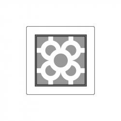 MOLDE PVC TABLETA AZULEJO BCN 145x145x20mm