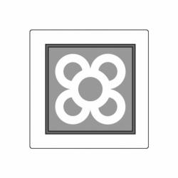 MOLDE PVC TABLETA AZULEJO BCN 190x190x15mm