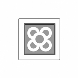 MOLDE PVC TABLETA AZULEJO BCN 140x140x15mm