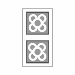 MOLDE PVC TABLETA AZULEJO BCN 100x100x6mm (2c)