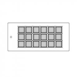 MOLDE PVC TABLETA ARPO180 158x78x10mm (1i)