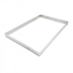 FAJA 59,5x39,5 cm MARCO INOX