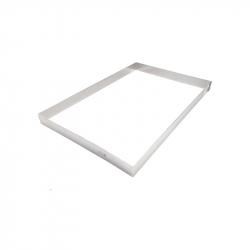 FAJA 36 x 36 cm MARCO INOX