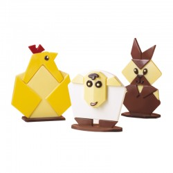 MOLDE PVC ORIGAMI EASTER (3m) H.100/142mm