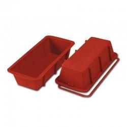 MOLDE SILICONA CAKE 260x100x70mm - 1,55lt