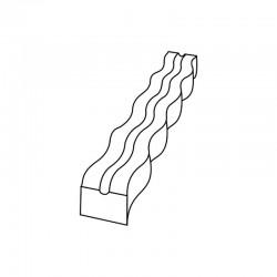 M. PVC TURRON TU521 195x35x20 (2i)