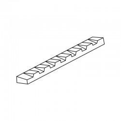 MOLDE PVC TURRÓN TU494 200x40x20mm (2ud)