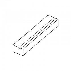 MOLDE PVC TURRÓN TU514 200x40x20mm (2ud)