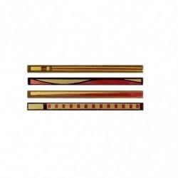 SERIG. PVC T907 BARR.120x8x2mm BL (2u)