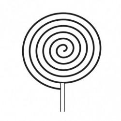 M. PVC PIRULETA DISCO CARAMELO 75X10 (2i)