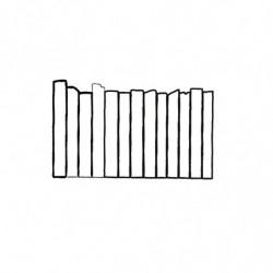M. PVC VALLA CALLE (1i) 189x78x9mm