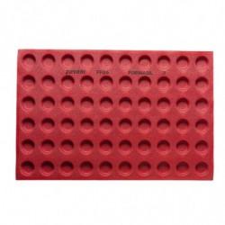 TAPETE FF06 FORMASIL 60 TART.REDONDAS D.40/32x16mm