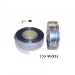 CINTA PVC INCOLORO 50 mm 200 micras (100mt)