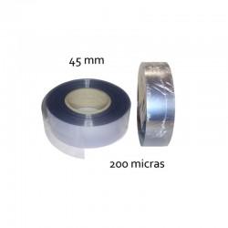 CINTA PVC INCOLORO 45 mm 200 micras (100mt)