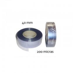 CINTA PVC INCOLORO 40 mm 200 micras (100mt)