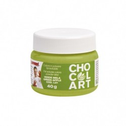 COLORANTE EN POLVO VERDE MANZANA LIPOSOLUBLE 40gr