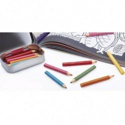 SERIG. PVC LAPIZ 80mm 6 colores CA (9 hojas)