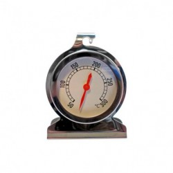 TERMOMETRO HORNO +50º +300ºC D.50mm INOX