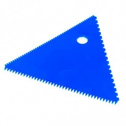 PEINE TRIANGULAR (100mm) Y RECTANG.(115x75mm)