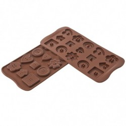 MOLDE  CHOCOLATES  SCG029 CHOCO BOTTON