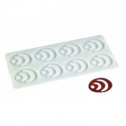 PLACA SILICONA DECORACION 82808 OVAL