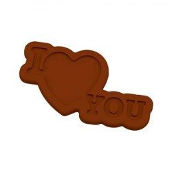M. PVC I LOVE YOU 62x37x2mm (10i)