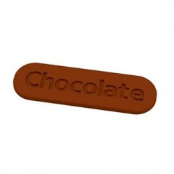 M. PVC CHOCOLATE 75x23x2mm (12i)