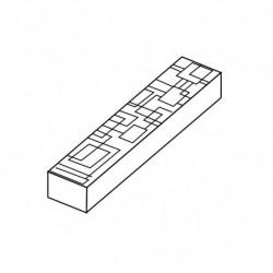 MOLDE PVC TURRÓN TU518 200x40x20mm (2ud)