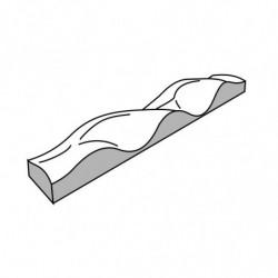 MOLDE PVC TURRÓN TU519 250x35x25mm (2ud)