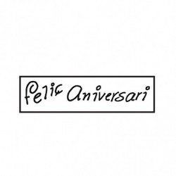 M. PVC FELIÇ ANIVERSARI 105x26x4 (8i)