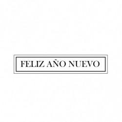 M. PVC FELIZ AÑO NUEVO 90x20mm (5i)