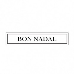 M. PVC BON NADAL 90x20mm (5i)