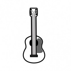 M. PVC GUITARRA CLASICA MD (2i-1m) 81x33x8mm