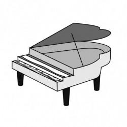 M. PVC PIANO 220x150x105mm (4m)