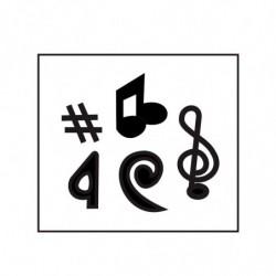 M. PVC NOTAS MUSICALES 5 mod (i)