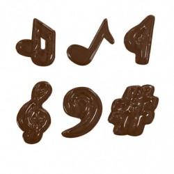 M. PVC NOTAS MUSICALES 6 mod (11i)