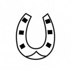M. PVC HERRADURA NAVIDAD 42X35X6 (6i)