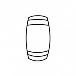 M. PVC CUBILETE PARCHIS 47x D26mm (i) MD