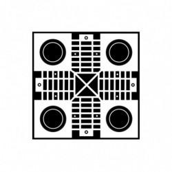 M. PVC TABLERO PARCHIS 195x195x10mm (1i)