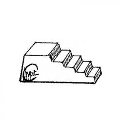M. PVC 13-711 ESCALERA GRANDE 88x26x33mm (2i)