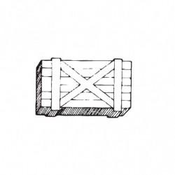 M. PVC CAJA MADERA 70x35x28 GRANDE DOB.